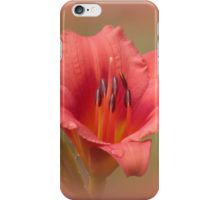 Strawberry Petals - Daylily iPhone Case/Skin
