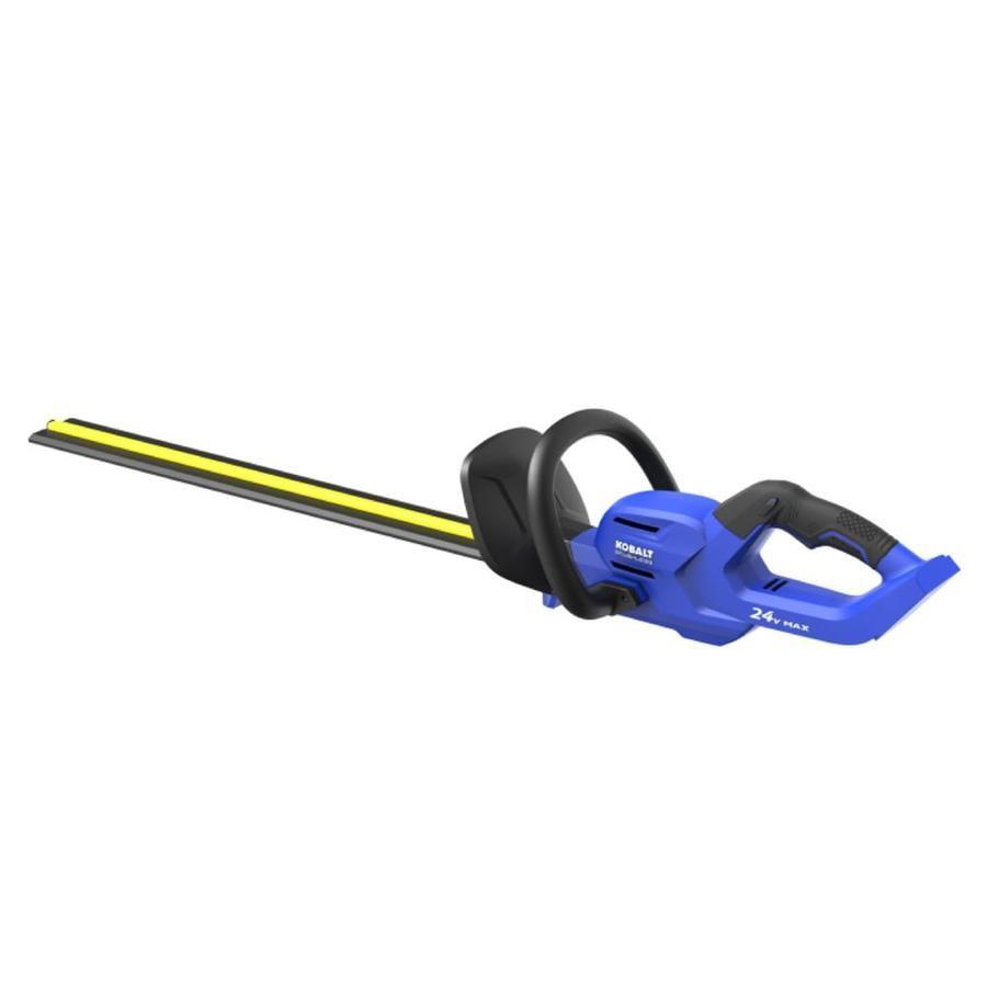 Kobalt 24 Volt 24 In Dual Cordless Hedge Trimmer Hedge Trimmers