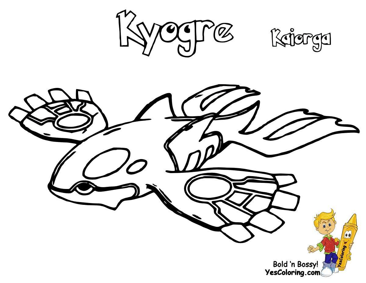 Pokemon Coloring Pages Kyogre Pokemon Coloring Pokemon Coloring