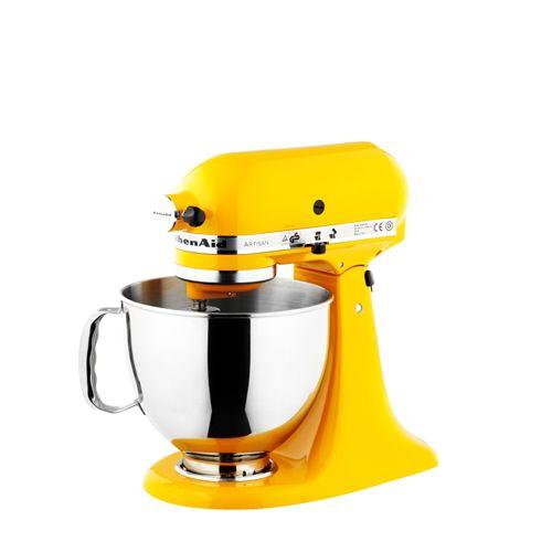 Bright Yellow Kitchenaid Kitchen Aid Kitchen Aid Mixer Kitchenaid Artisan Mixer