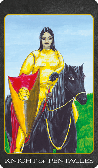 Knight of Pentacles - The Tarot House | Beautiful Tarot