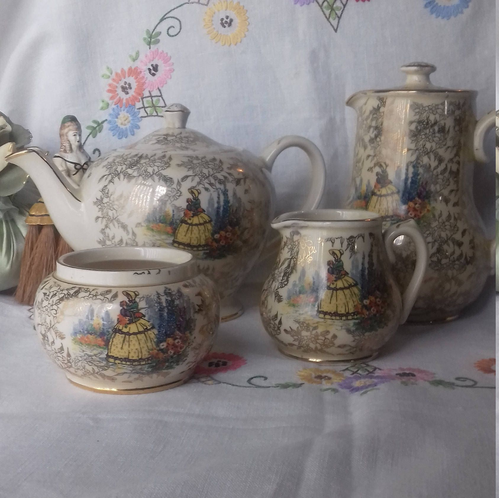for sale / open to offers sadler teapot tea set coffee