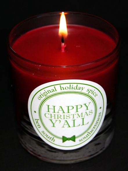happy christmas y all candle 20 http www southernness com happy christmas yall artisan candle holiday spice