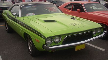 Dodge Challenger Wikipedia The Free Encyclopedia Dodge Challenger Challenger Challenger Rt