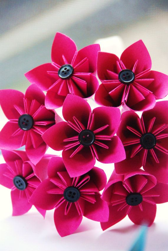 Origami flower bouquet | Projects to Try | Pinterest | Origami ...