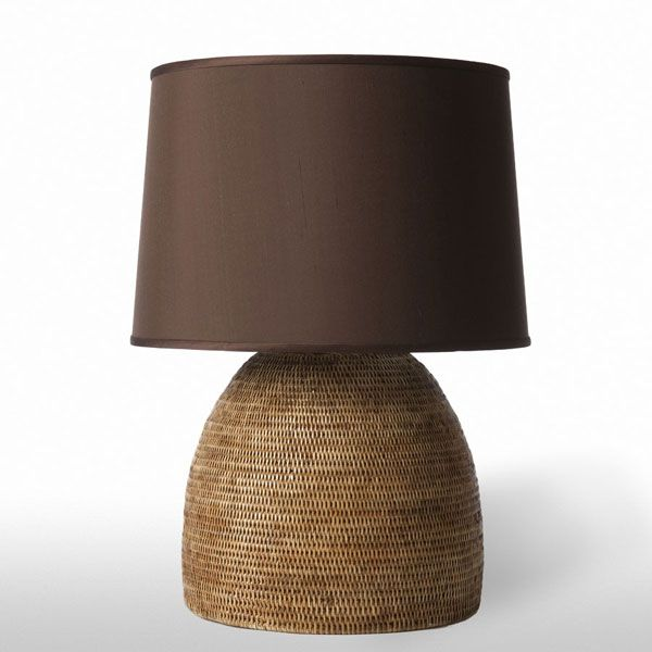 Rattan Table Lamp Add Natural Texture To Your Interior With This Handsome Rattan  Table Lamp