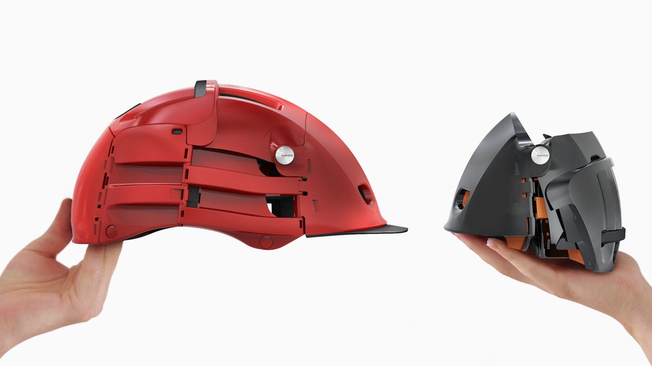 A Fold Up Helmet Designed For Easy Storage Doesnu0027t Store Easily