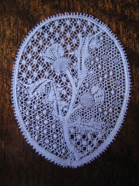 Thistle lace