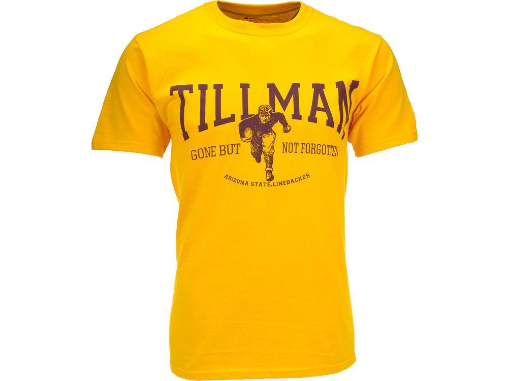 GOLD Pat Tillman Womens T-Shirt! Wear the Number 42 Proud!  ASUAthletics   SunDevilSwag e9575ef52