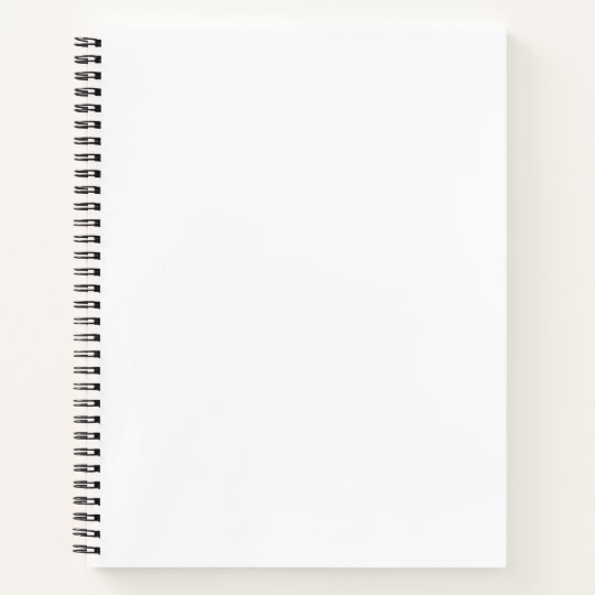 Create Your Own Spiral Notebook Zazzle Com In 2021 Notebooks Custom Spiral Notebook Covers Spiral Notebook
