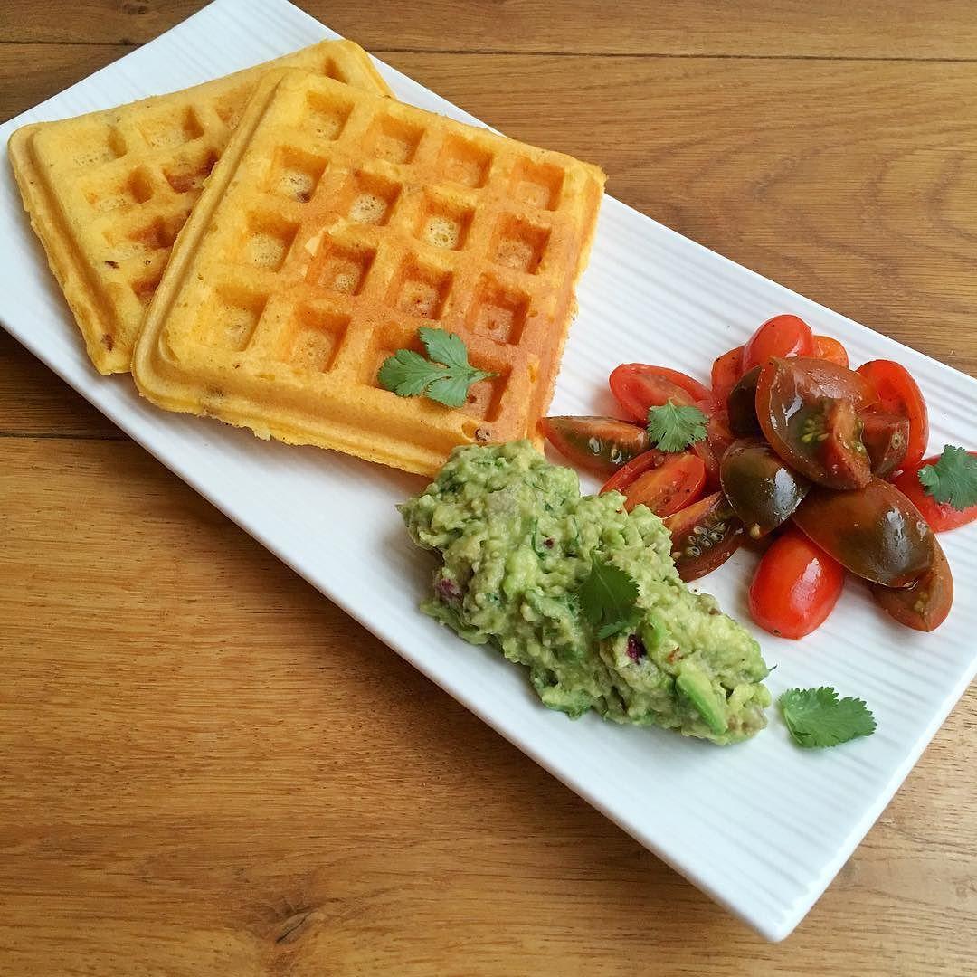 recipe: cornmeal waffles egg whites [2]