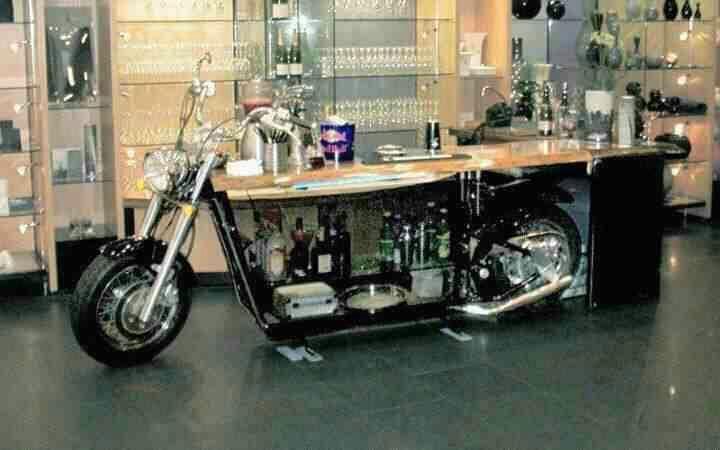 Motorcycle Bar Harley Davidson Of Long Branch Www Hdlongbranch Com Automotive Decor Harley Davidson Decor Motorcycle Bar