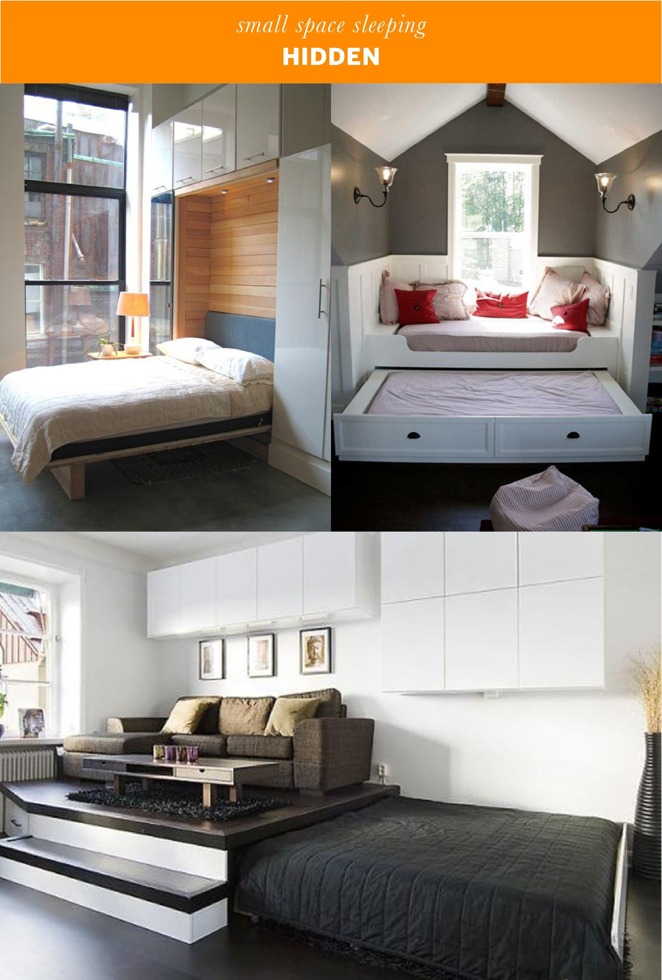 Small Space Sleeping Solutions Apartment Therapy Small Spaces