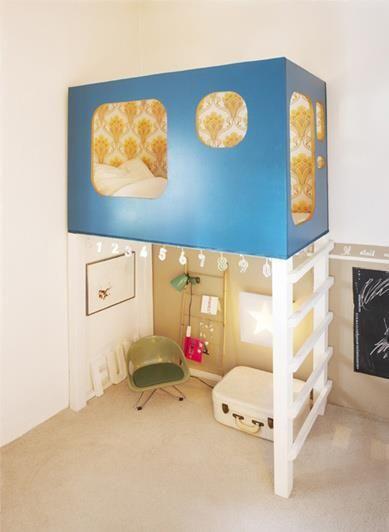 Small Bedroom Organisation Elegant Children S Hideaway Bunkbed