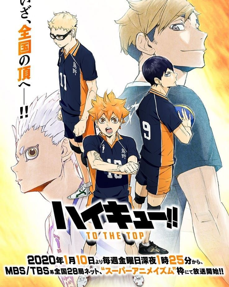 Haikyū!! Season 4 ! In 2020
