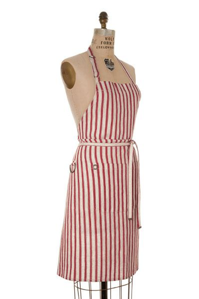 summer entertaining + BBQ's call for a stylish apron:: Mulberry Bib Apron by Birdkage Modern Palm Boutique