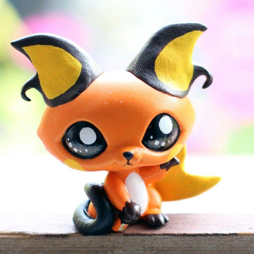 Lps RaichuPet Shop KawaiiEt Fimo Pokemon 0n8kXOPw