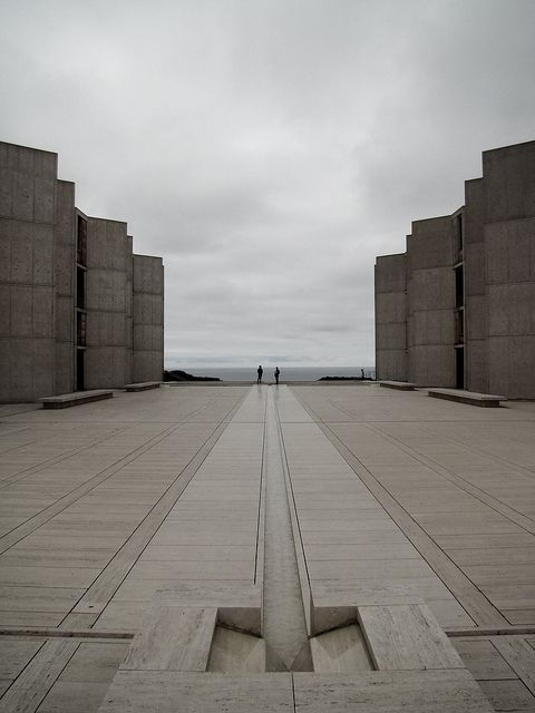 Salk Institute.. Louis Kahn