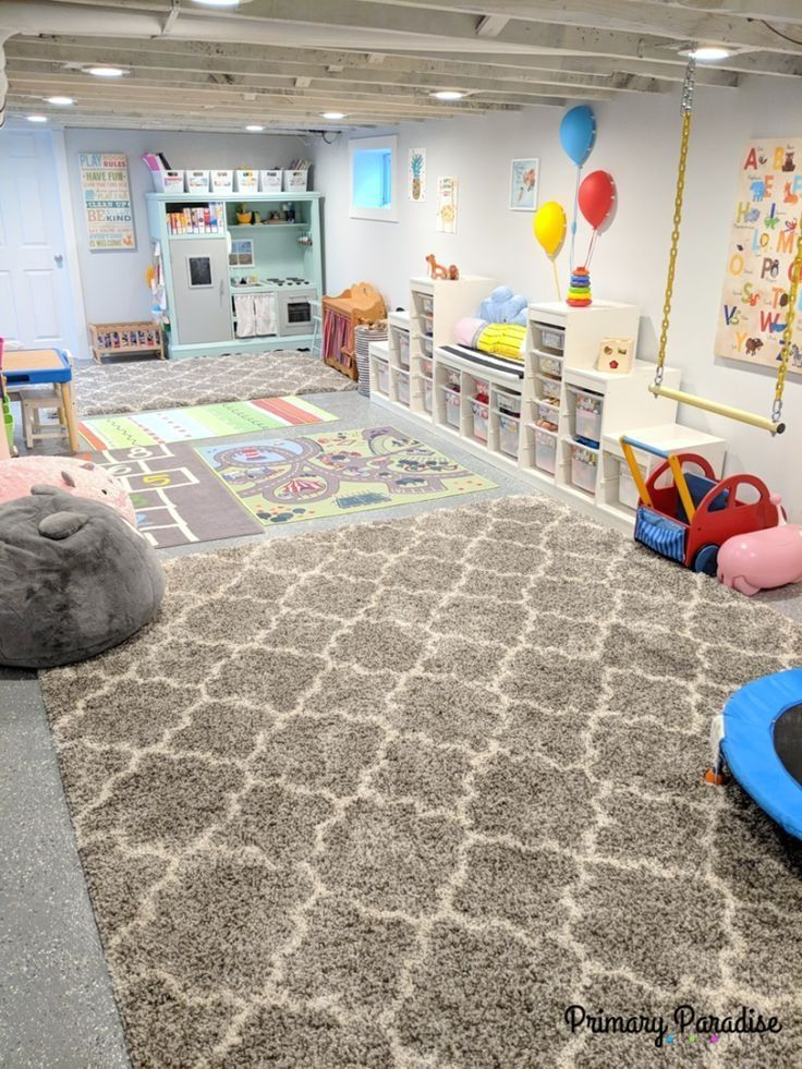 Dream Playroom: A Bright Space for Imaginative Play -