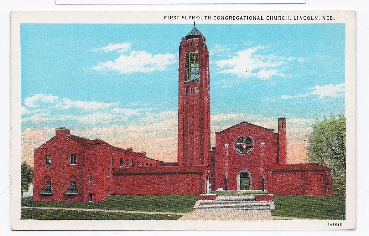 First Plymouth Congregational Church LINCOLN NEBRASKA