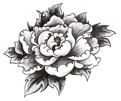 pivoine plus tattoo pinterest pivoine tatouage et dessin. Black Bedroom Furniture Sets. Home Design Ideas