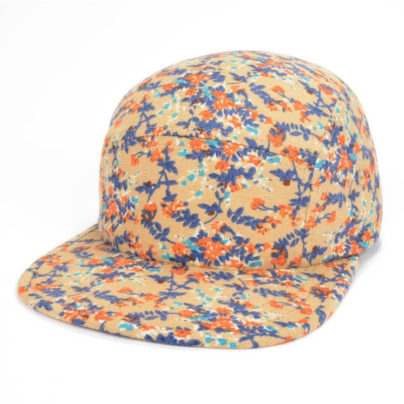 BEIGE  Fashion Autumn Snapback Caps Flower Hip Hop Cap Brand Women Snap Backs Hats Casquette Baseball Hat