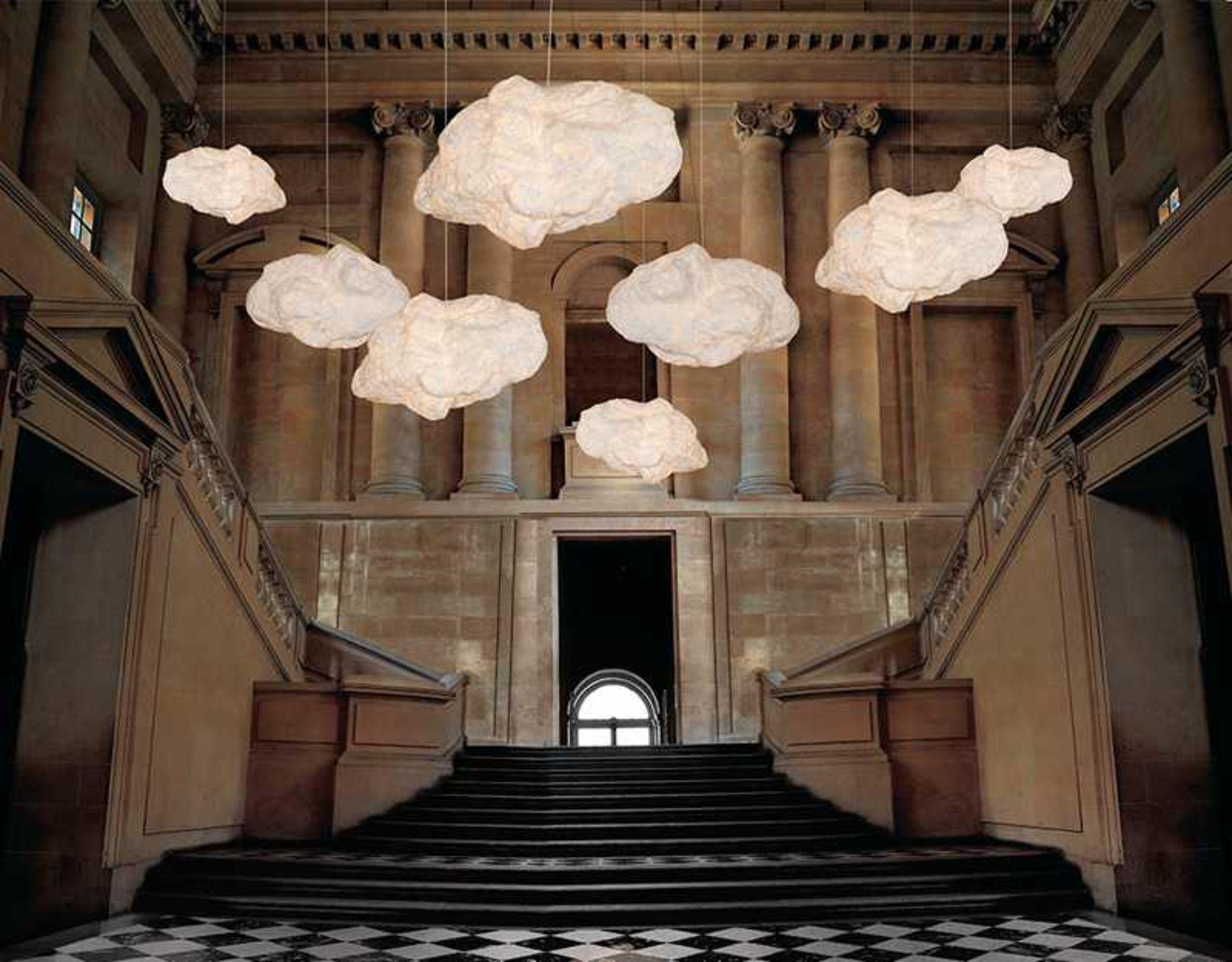 Moderne Lampen 18 : Ideen fürs kinderzimmer: designerlampe aus stoff : wolkenlampe