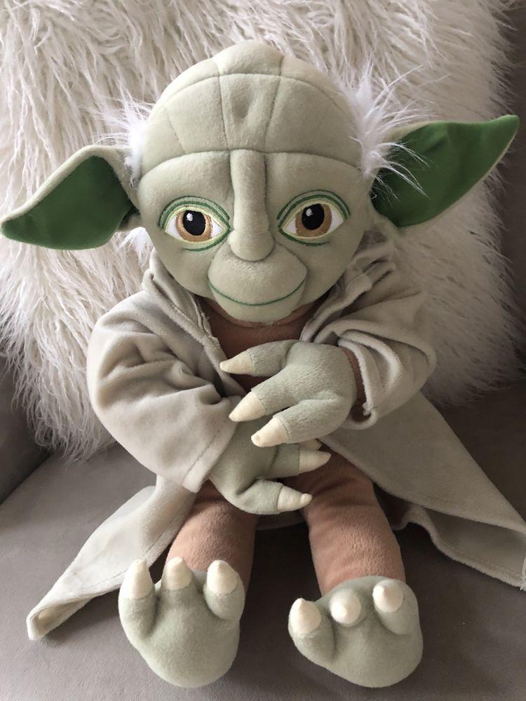 Star Wars Yoda Plush Stuffed Animal Doll Jay Franco Sons Lucas Film