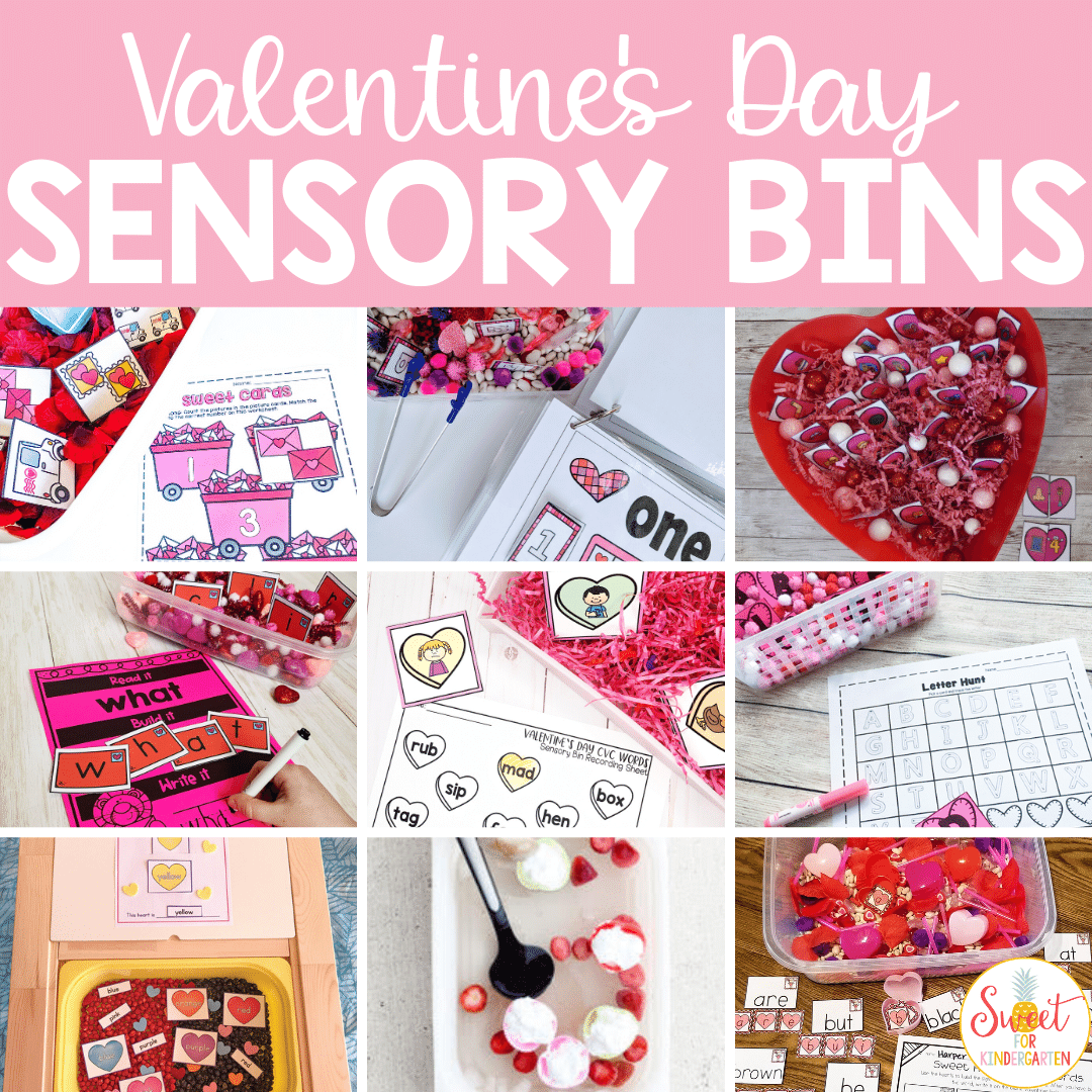 Valentine S Day Sensory Bin Ideas For Preschool Pre K