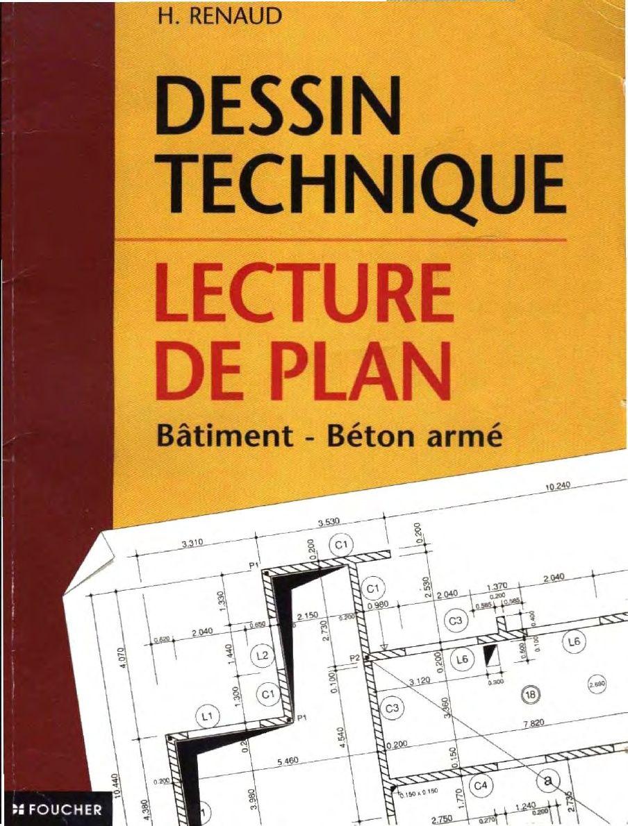 Dessin technique lecture de plan pdf