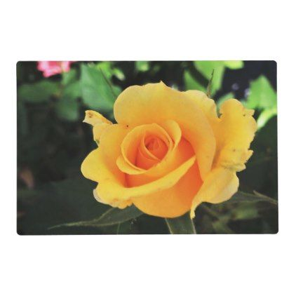 Summer Yellow Rose Placemat - kitchen gifts diy ideas decor special ...