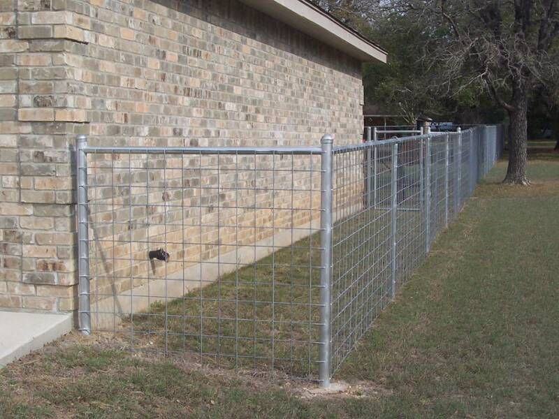Cattle Panel With Steel Posts Fence Gates Amp Garden In