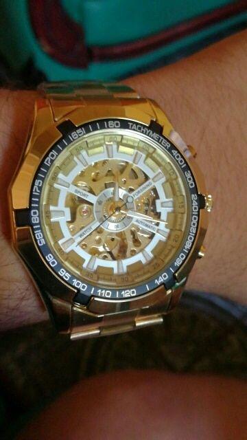 869158917 Winner Watch Men Skeleton Automatic Mechanical Watch Gold Skeleton Vintage  Man Watch Mens FORSINING Watch Top Brand Luxury in 2019 | Watches | Winner  ...