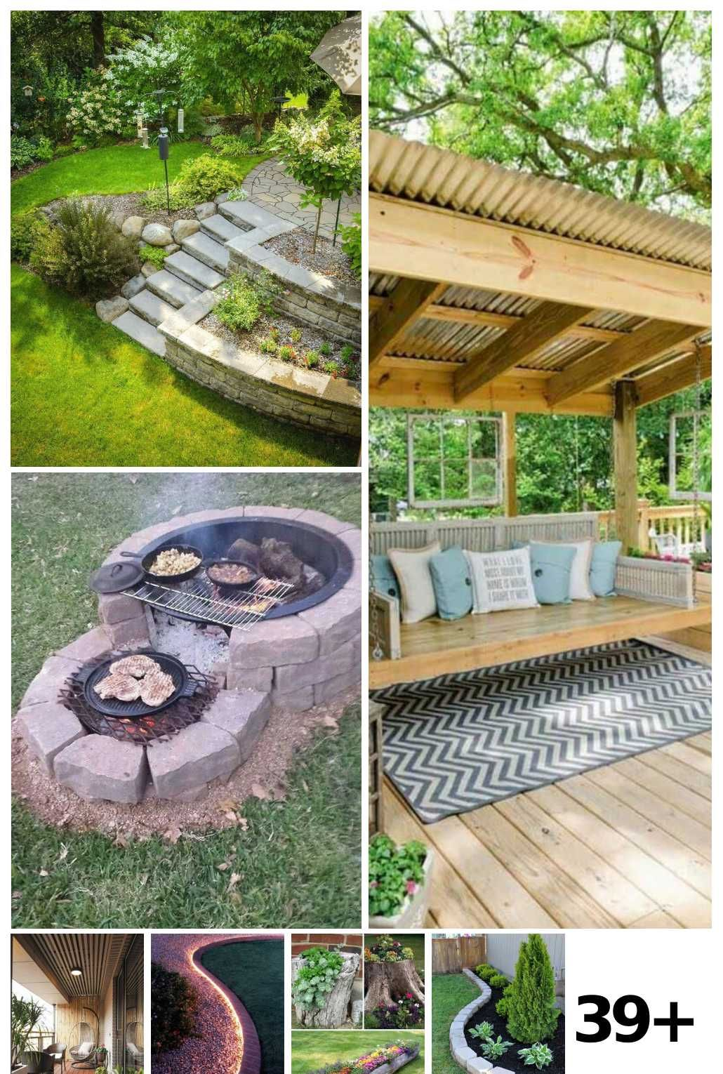39 Backyard On A Budget Landscaping Ideas In 2020 Backyard Landscaping Budget Landscaping Backyard