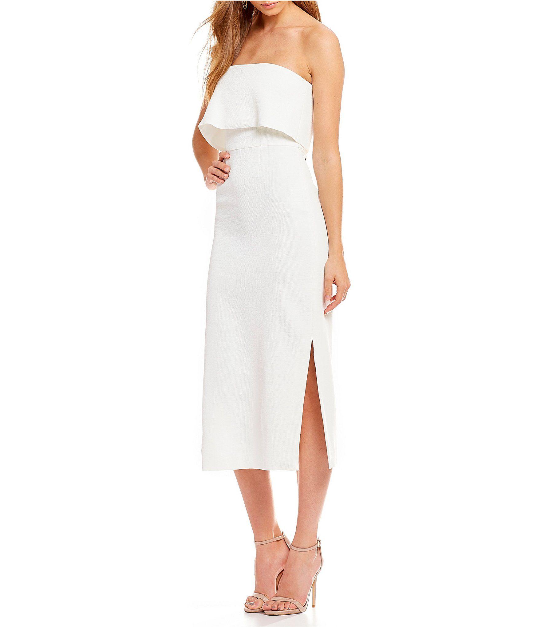 43e4c2e1316 Shop for CeCe Halter Neck Ruffled Sheath Dress at Dillards.com. Visit  Dillards.com to find clothing