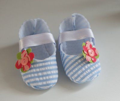 diy baby mary jane shoes...too cute!