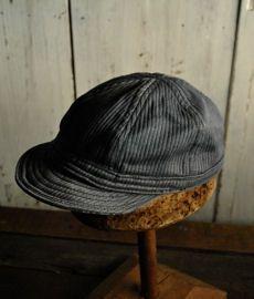 adequate(アダクワッタ) ヴィンテージファブリックで製作した帽子のご紹介です。