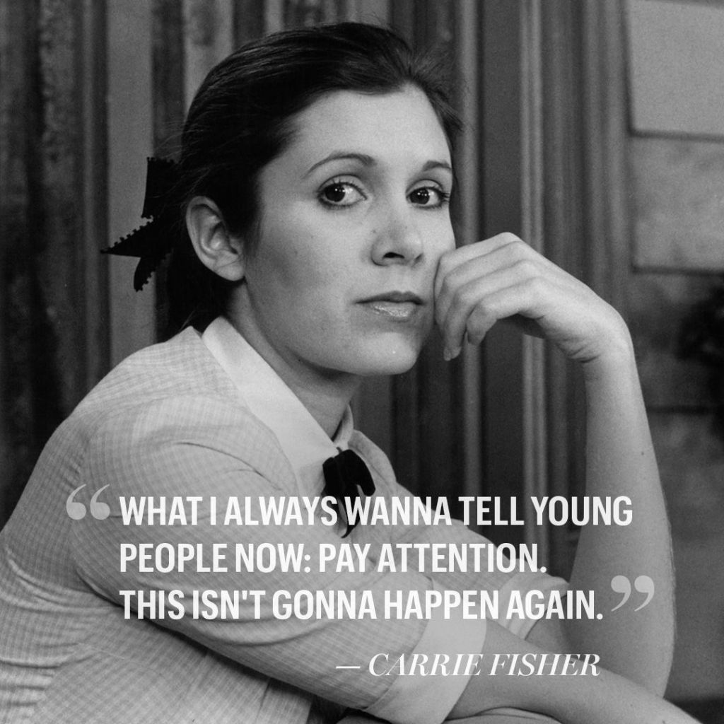 Carrie Fisher Has Died at 60 Carrie fisher quotes