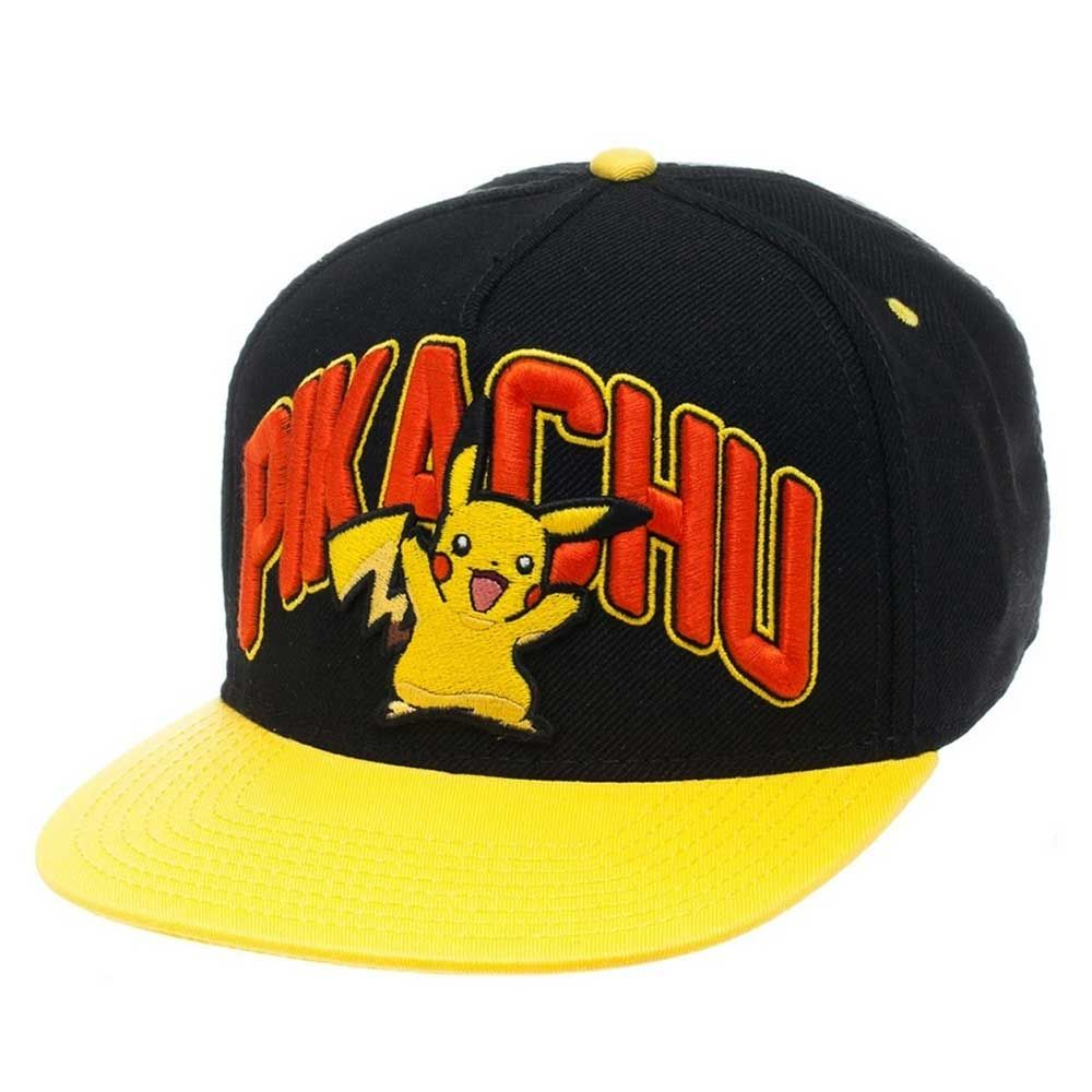 Pokémon - Pikachu snapback pet zwart geel - Games anime merchandise ... eb4bcc8930