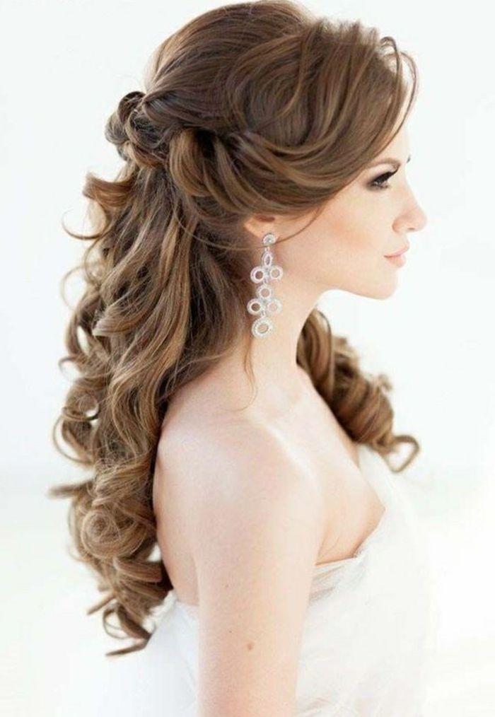 Ideen Fur Effektvolle Hochzeitsfrisuren Fur Damen Mit Langen Haaren Brautfrisur Brautfrisuren Lange Haare Hochzeitsfrisuren