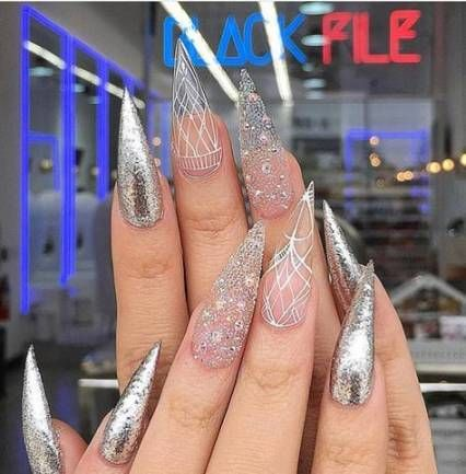 38 super ideas nails glitter fade ombre with images