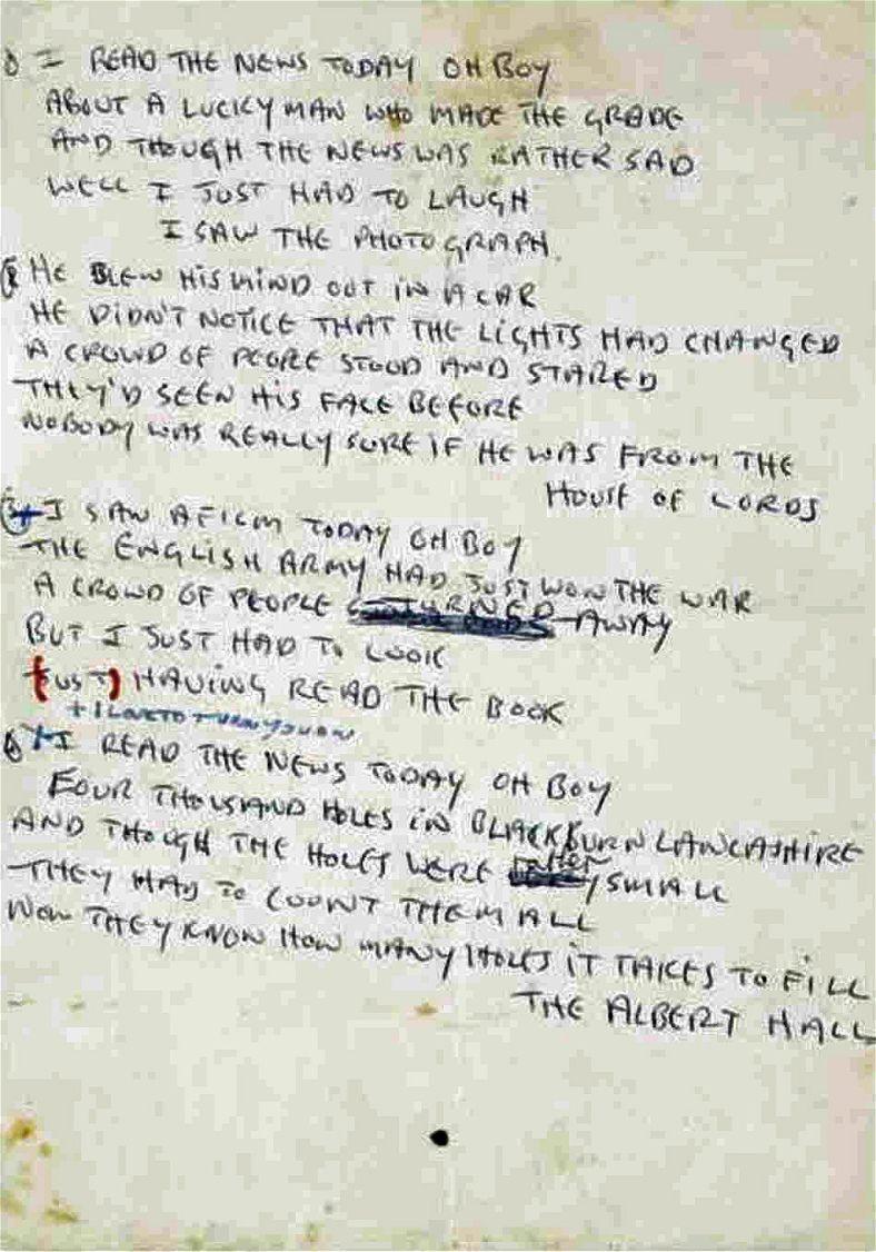 Lennon lyrics