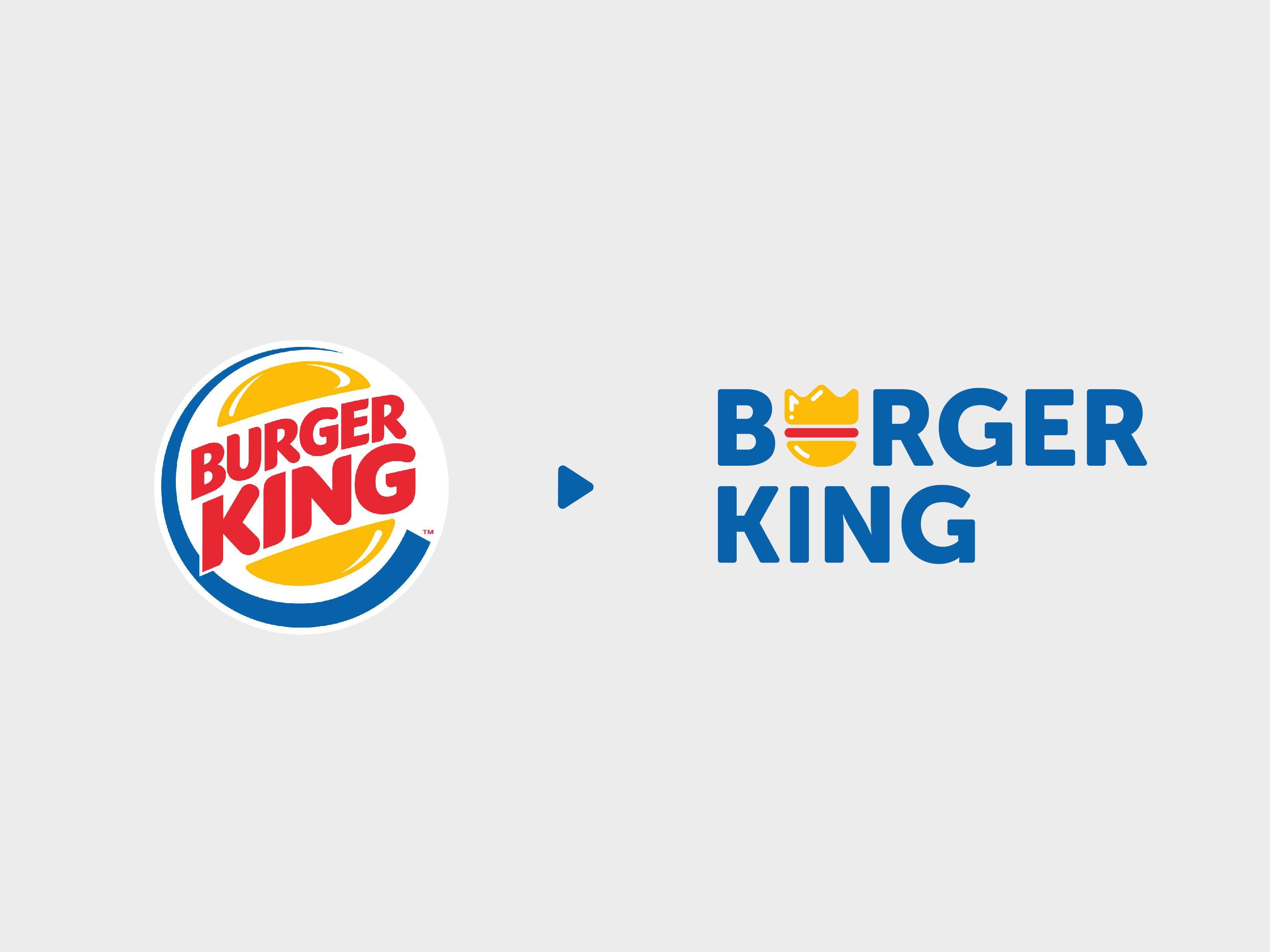 Burger King Logo Redesign Logo Redesign Burger King Logo Logos