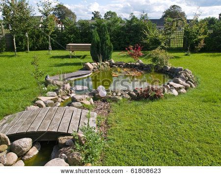 Natural landscaping around koi ponds beautiful classical for Landscaping around a small pond