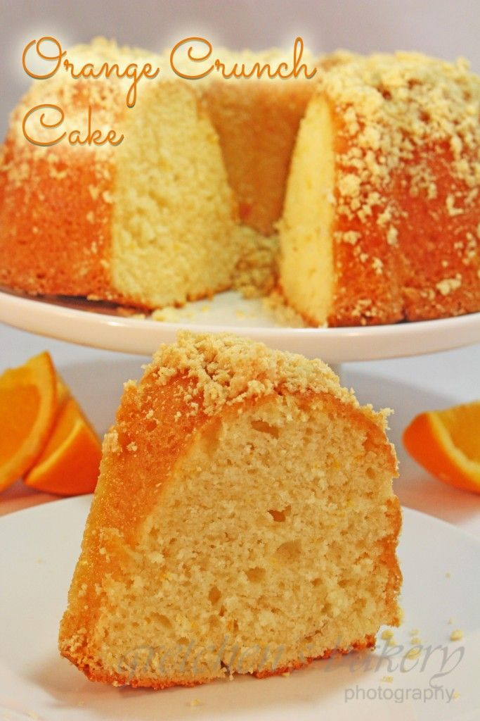 Orange Crunch Cake Will Become Your New Favorite Cake