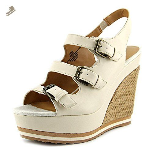 1784db5e806ed Nine West Wixsono Women US 5.5 Ivory Wedge Sandal - Nine west pumps ...