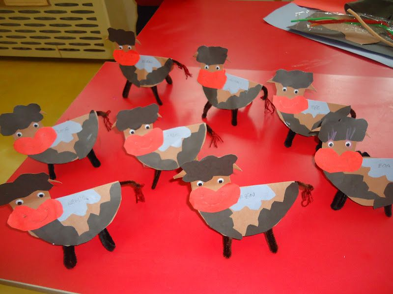 Farm animals craft idea for kids   Crafts and Worksheets for     Farm animals craft idea for kids   Crafts and Worksheets for Preschool  Toddler and Kindergarten