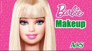Barbie Princess MakeUp U0026 Barbie Dress Up Games   Barbie Princess Charm  School