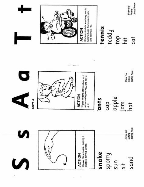 Jolly Phonics Sound Cards Printable