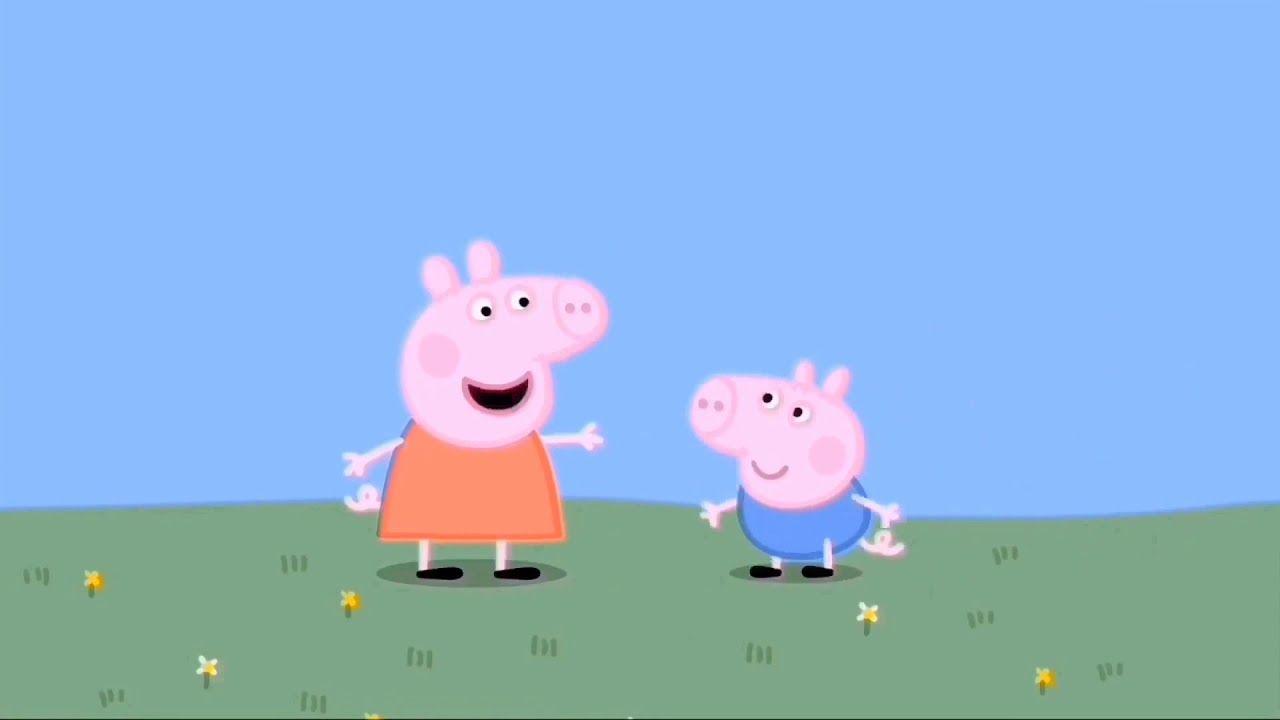 Свинка Пеппа. Свинка Пеппа Джордж и друзья учат цвета ...